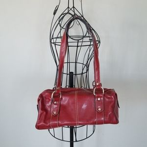 Villiager red purse
